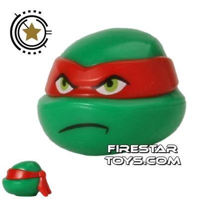 LEGO Mini Figure Heads - Teenage Mutant Ninja Turtles - Raphael