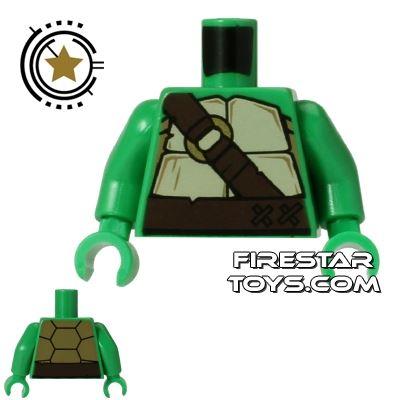 LEGO Mini Figure Torso - Teenage Mutant Ninja Turtles - Shell with Buckles