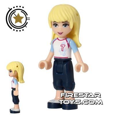 LEGO Friends Mini Figure - Stephanie - Football Soccer Top