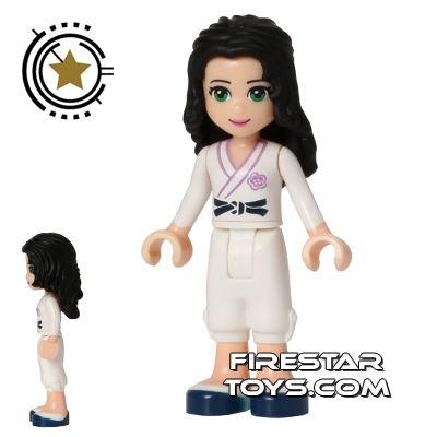 LEGO Friends Mini Figure - Emma - Karate Uniform