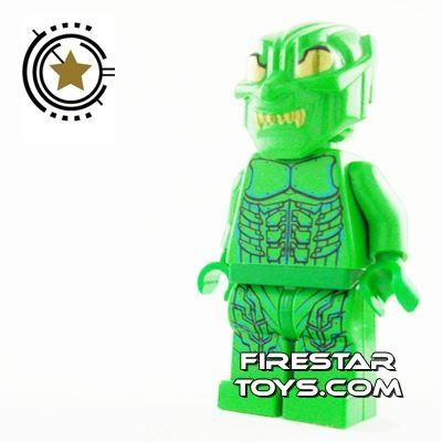 LEGO Spiderman Mini Figure - Green Goblin 2 - Decorated Headgear