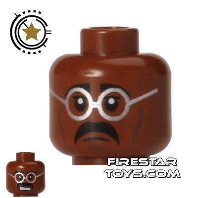 LEGO Mini Figure Heads - Teenage Mutant Ninja Turtles - Baxter