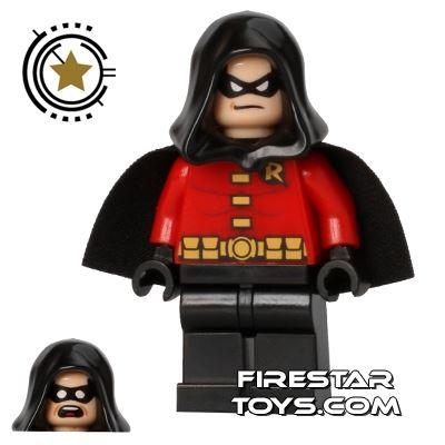 LEGO Super Heroes Mini Figure - Robin - Black Hood