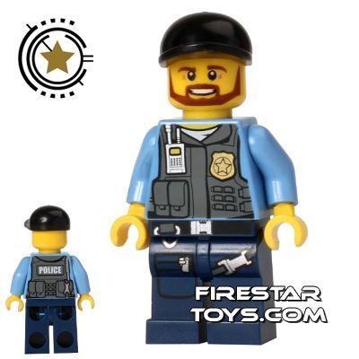 LEGO City Mini Figure - Undercover Elite - Police Officer 1