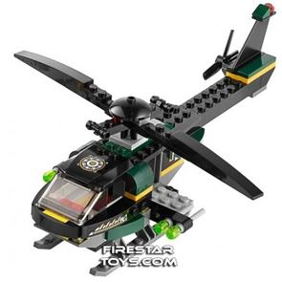 Custom Mini Set - Super Heroes - Mandarin's Helicopter