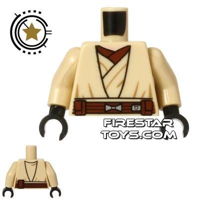 LEGO Mini Figure Torso - Star Wars - Obi-Wan Kenobi Robe