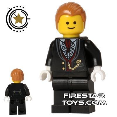 LEGO City Mini Figure - Cinema Visitor - Black Jacket