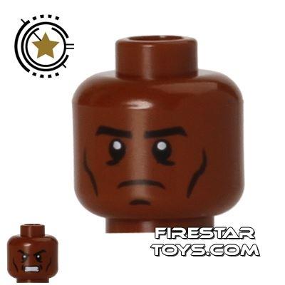 LEGO Mini Figure Heads - War Machine - James Rupert Rhodes