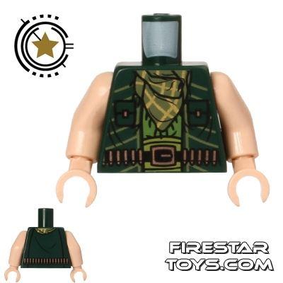 LEGO Mini Figure Torso - The Mandarin - Ammo Belt