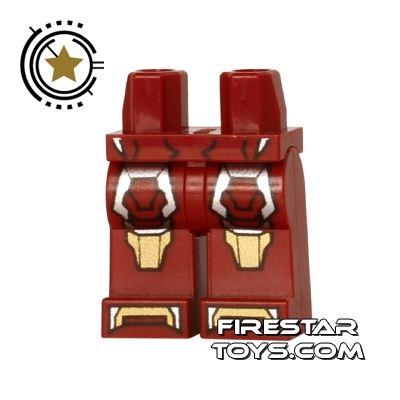 LEGO Mini Figure Legs - Iron Man