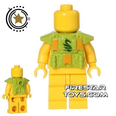 BrickForge - Printed Shock Trooper Armour - Serpent - Lime
