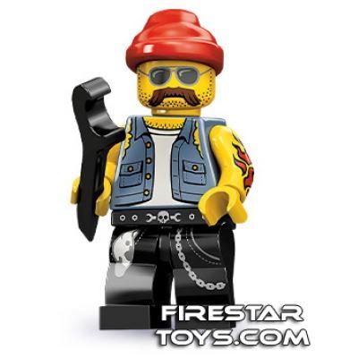 LEGO Minifigures - Motorcycle Mechanic