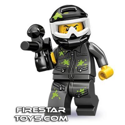 LEGO Minifigures - Paintball Player