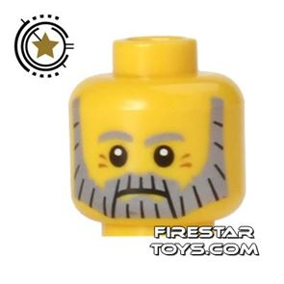 LEGO Mini Figure Heads - Sea Captain