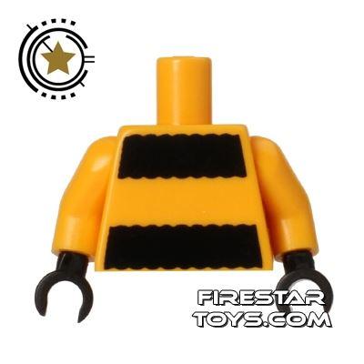 LEGO Mini Figure Torso - Bumblebee Girl