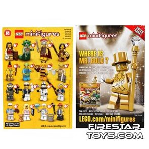 LEGO - Minifigures Series 10 Collectable Leaflet