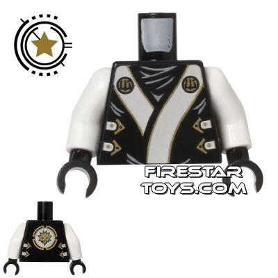 LEGO Mini Figure Torso - Ninjago Robe - Zane