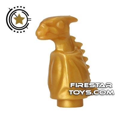 LEGO Animals Mini Figure -  Dragon Baby Norbert - Pearl Gold