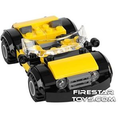Custom Mini Set - Super Heroes - Cool Yellow Car