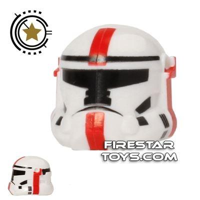 Arealight HVC Combat Helmet Red Print