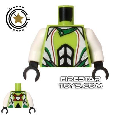 LEGO Mini Figure Torso - Team Extreme Jacket