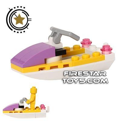 Custom Mini Set - Friends Jet Ski - Water Scooter