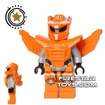 LEGO Galaxy Squad Mini Figure - Robot Sidekick - Orange