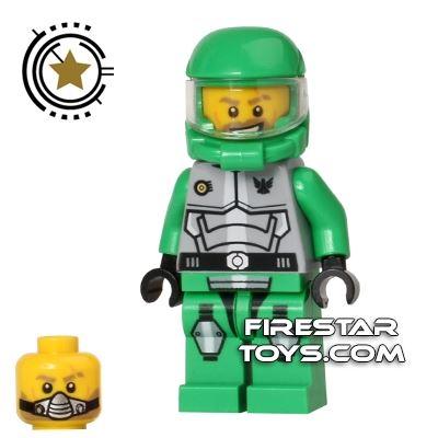 LEGO Galaxy Squad Mini Figure - Chuck Stonebreaker