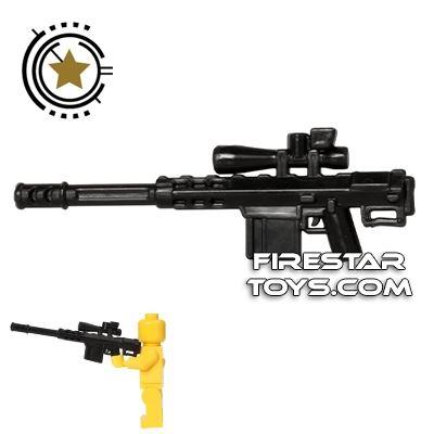 CombatBrick - Anti-Anything Heavy Caliber Sniper Rifle - Fifty - Black