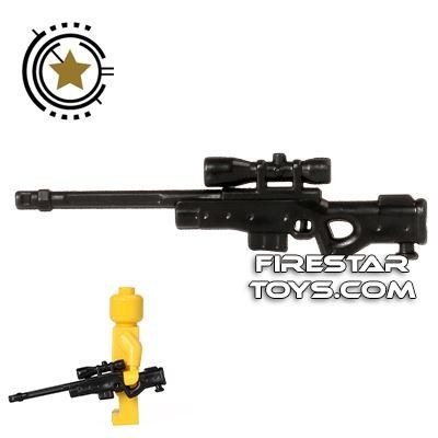 CombatBrick - Long Range Precision Sniper Rifle - Lord - Black