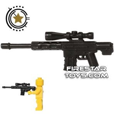 CombatBrick - Semi-Automatic Sniper Rifle - Reaper - Black