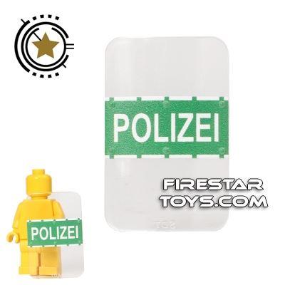SI-DAN - Bulletproof Shield - Polizei - Green