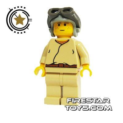 LEGO Star Wars Mini Figure - Anakin Gray Helmet
