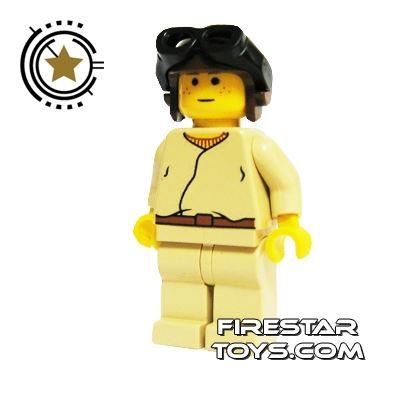 LEGO Star Wars Mini Figure - Anakin Brown Helmet