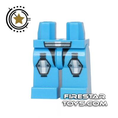 LEGO Mini Figure Legs - Galaxy Squad Armour - Dark Azure