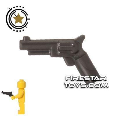 LEGO Gun - Revolver - Pearl Dark Gray