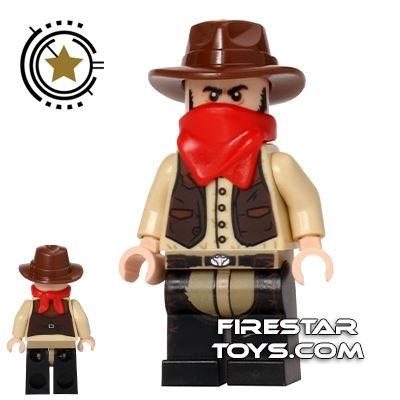 LEGO The Lone Ranger Mini Figure - Jesus