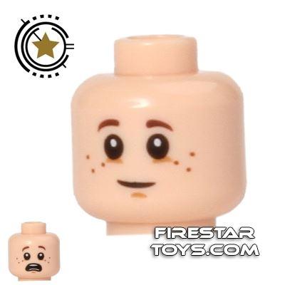 LEGO Mini Figure Heads - Big Eyes - Freckles