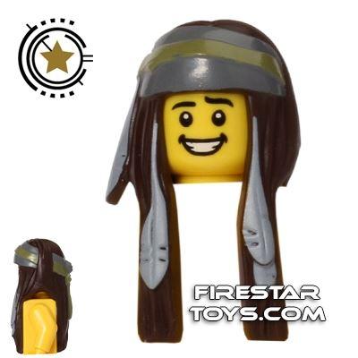 LEGO Hair - Tonto - Feathers and Bandana