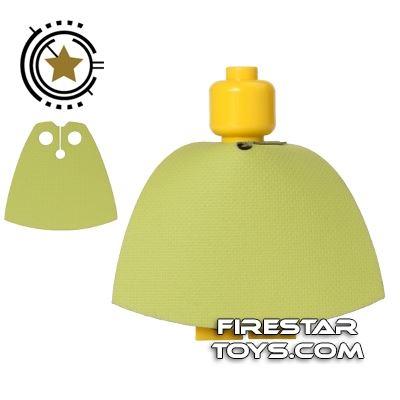 Custom Design Cape - Lime Green
