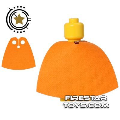 Custom Design Cape - Orange