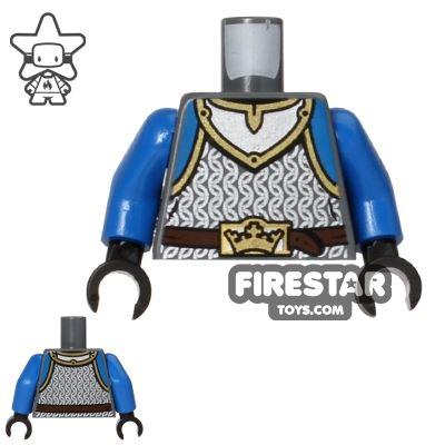 LEGO Mini Figure Torso - Lion Knight Scale Mail
