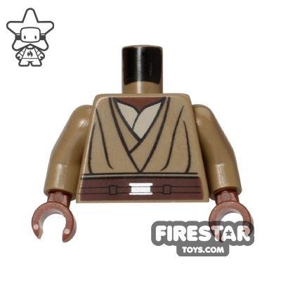 LEGO Mini Figure Torso - Star Wars - Mace Windu Robe
