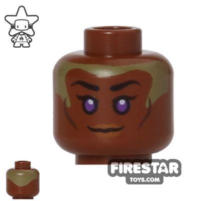 LEGO Mini Figure Heads - Star Wars Stass Allie