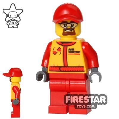 LEGO City Mini Figure - Monster Truck Mechanic - Safety Goggles