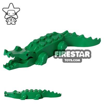 LEGO Animals Mini Figure - Crocodile - Green