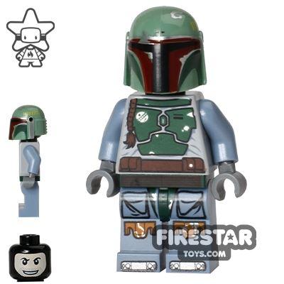 LEGO Star Wars Mini Figure - Boba Fett - Balaclava Head