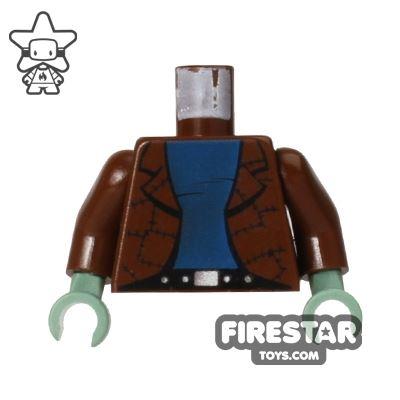 LEGO Mini Figure Torso - Frankenstein's Monster