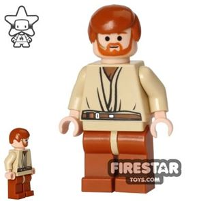 LEGO Star Wars Mini Figure - Obi-Wan Kenobi - Headset