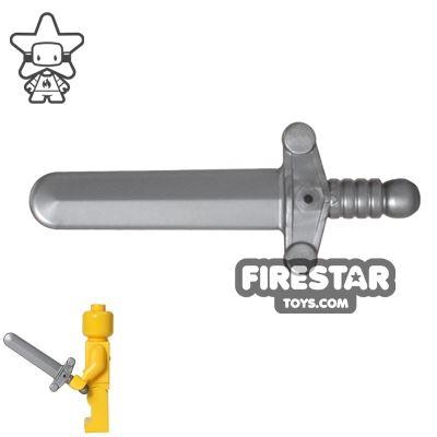 LEGO - Shortsword - Flat Silver